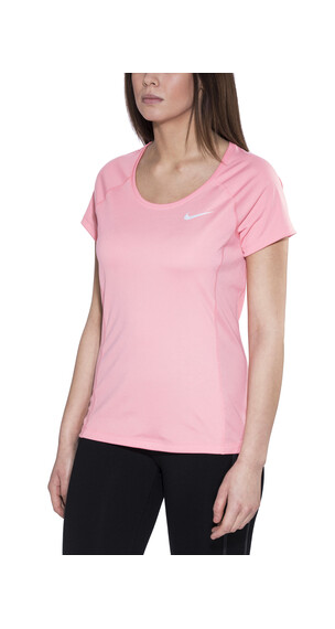 Nike Dry Miler Løbe T-shirt Damer pink